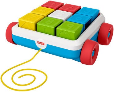 Fisher-Price Pull-Along Activity Blocks Draleke