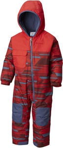 Columbia Hot-Tot Vinterdress, Red Spark Geo Print