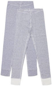Luca & Lola Toto Stillongs 2-pack, Grey/Stripes