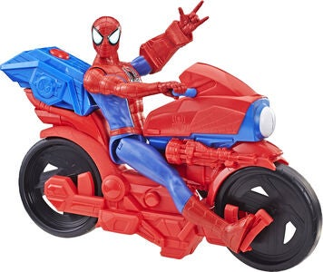 Marvel Spider-Man Titan Power Pack Cycle Og Figur 30 cm