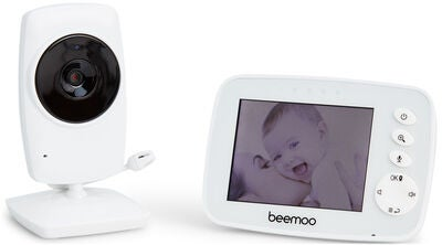 Beemoo SM32 Babycall med Video, Hvit