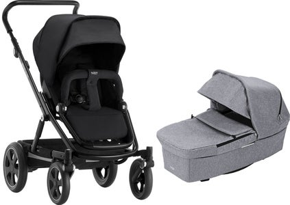 Britax GO BIG² Duovogn, Grey Melange/Black