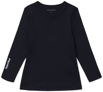 Hyperfied Long Sleeve Logo Top, Anthracite