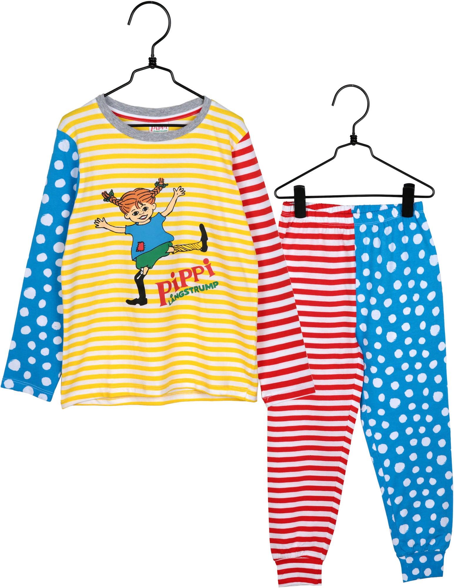 Pippi Langstrømpe Pyjamas Glädje 122-128