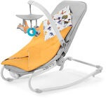 Kinderkraft Felio Vippestol, Forest Yellow