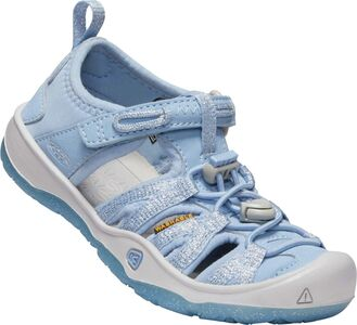 KEEN Moxie Little Kids Sandal, Powder Blue/Vapor