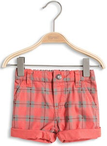 ESPRIT Shorts Check, Coral Red