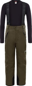 The North Face Snowquest Suspender Plus Bukse, New Taupe Green