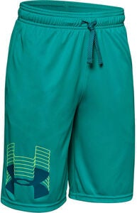 Under Armour Prototype Logo Shorts, Teal Rush