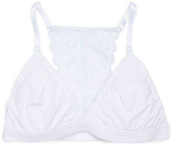 Milki Soft Lace Amme-BH, White