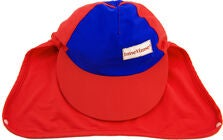 ImseVimse UV-Caps, Red/Blue