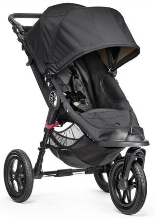Baby Jogger City Elite Single Duovogn, Black