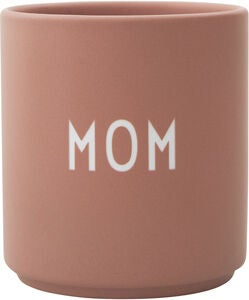 Design Letters Favourite Kopp Mom, Nude