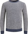 Jack & Jones Deep Knit Genser, Vintage Indigo