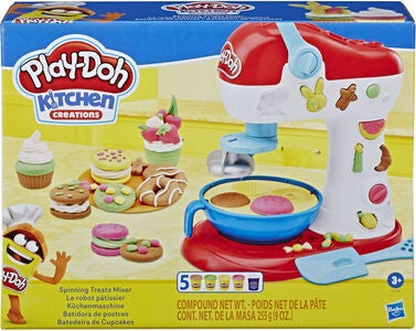 Play-Doh Lekeleire Spinning Treats Mixer