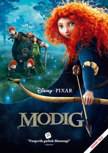Disney Pixar Modig DVD