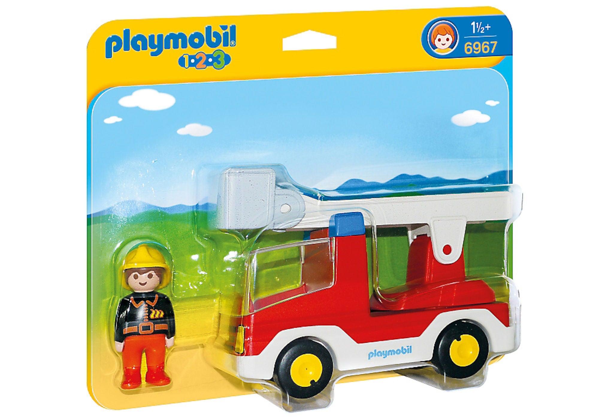 Playmobil 6967 Brannbil med Stige