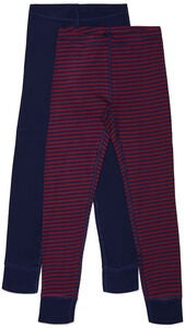 Luca & Lola Toto Stillongs 2-pack, Navy/Stripes