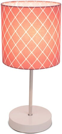 Alice & Fox Square Dots Bordlampe, Dusty Dark Rose