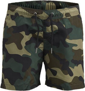 Jack & Jones Sunset Camo Badshorts, Olive Night