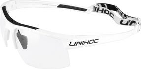 Unihoc Energy Briller Junior, White/Black