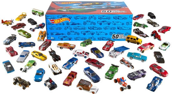 Hot Wheels Bil 50-Pack