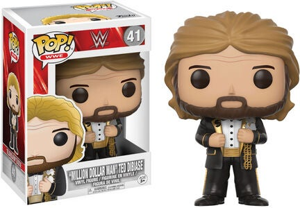 POP! WWE Samlefigur Million Dollar Man Old School