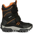 Geox Himalaya WPF Vintersko, Black/Orange
