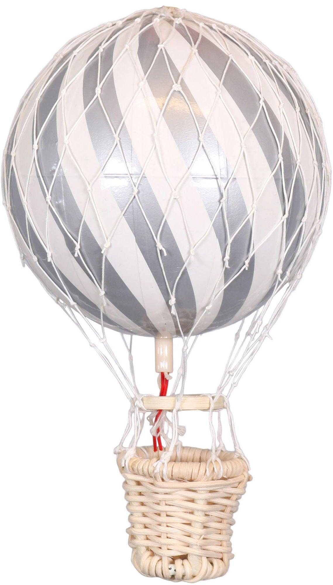 FILIBABBA Luftballong 10cm, Sølv