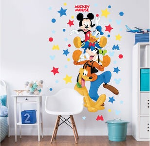 Disney Mikke Mus large Character Sticker