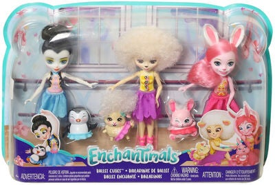 Enchantimals Ballet Cuties Figursett 3-pack