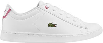 Lacoste Carnaby Evo Sneaker, White/Pink