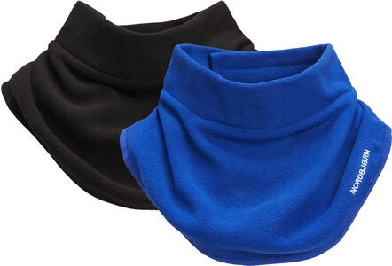 Nordbjørn Sarek Fleece Krage 2-Pack, Blue