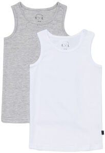 Luca & Lola Alex Topp 2-pack, Grey/White