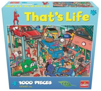 Goliath Games Puslespill That's Life - Garage 1000 Brikker