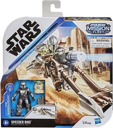 Star Wars Figur The Mandalorian Child Speeder