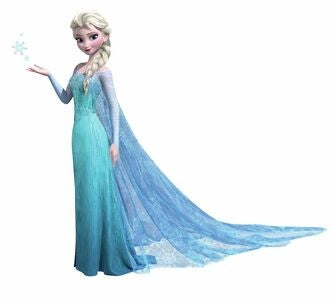 RoomMates Wallsticker Disney Frozen Elsa