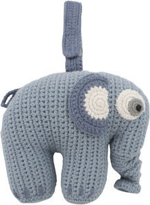 Sebra Fanto the Elephant Spilledåse, Powder Blue