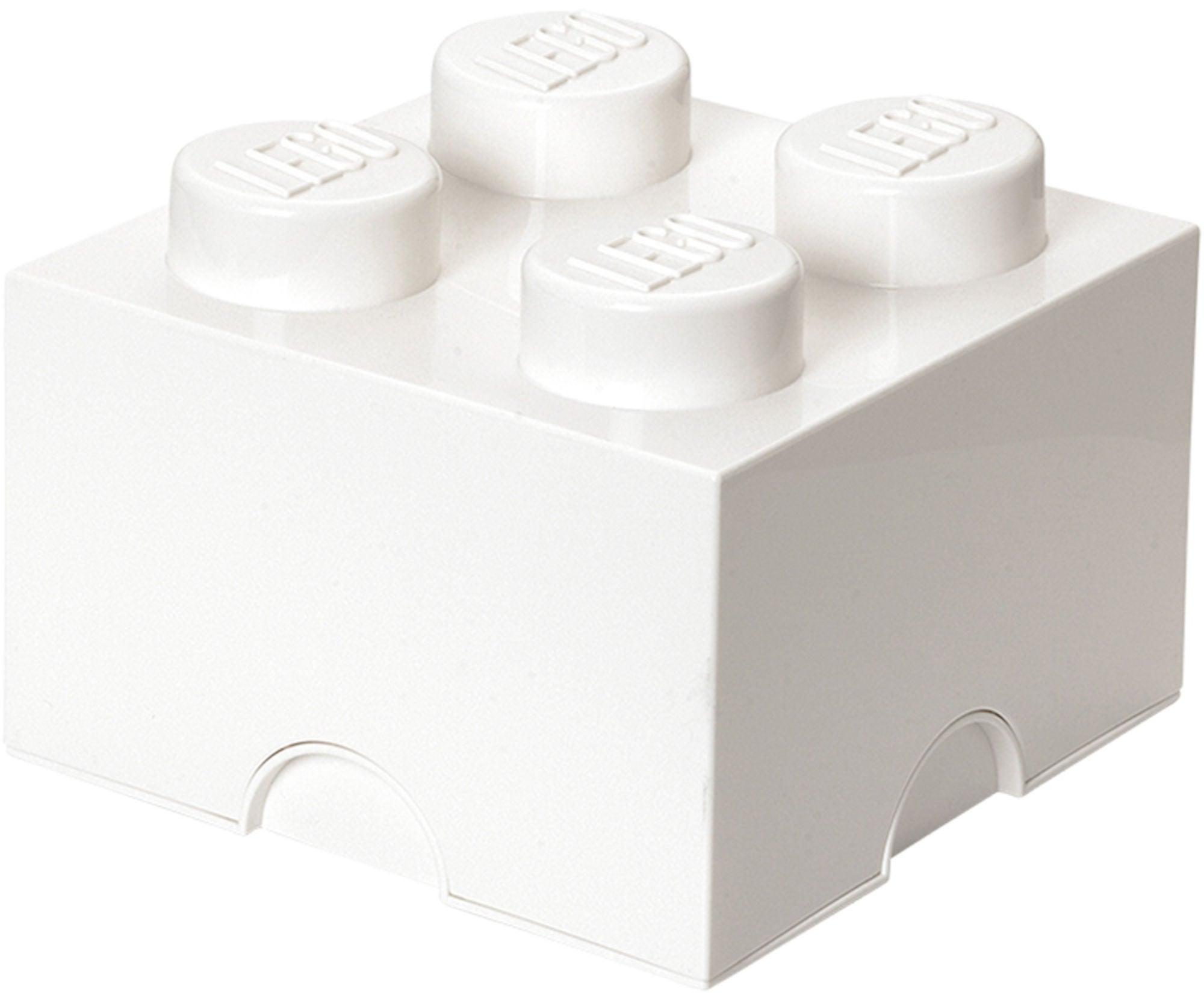 LEGO Oppbevaring 4 Hvit