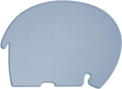 Sebra Fanto the Elephant Underlag, Powder Blue