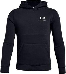 Under Armour EU Cotton Fleece Hettegenser, Black