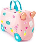 Trunki Flossi The Flamingo Koffert 18L, Light Pink