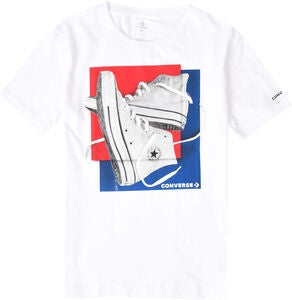 Converse Sneakers Squares T-Shirt, White