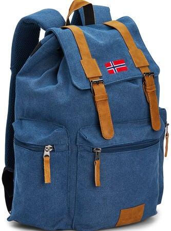 768d618f Kjøp Pure Norway Retro Ryggsekk, Blå | Jollyroom