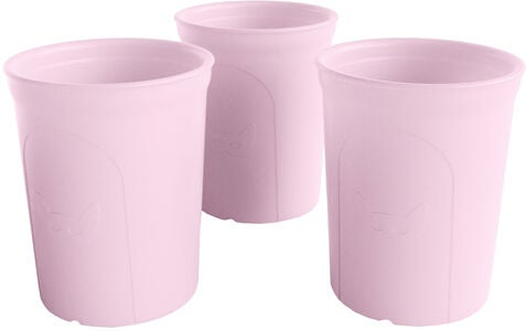 Herobility Eco Glass 2-pack, Rosa