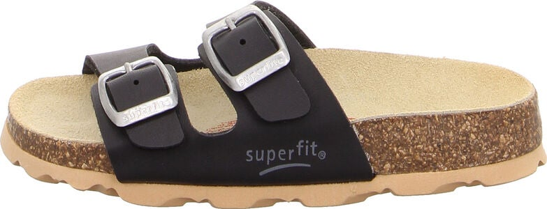 Superfit Fussbett Tøfler, Black