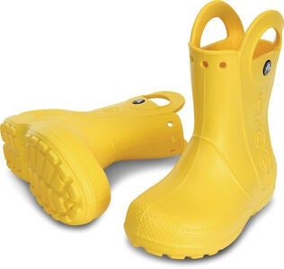 Crocs Kids Handle It Regnstøvel, Yellow