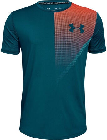 Under Armour Raid SS T-skjorte, Techno Teal