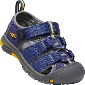 KEEN Newport H2 Toddlers Sandal, Blue Depths/Gargoyle