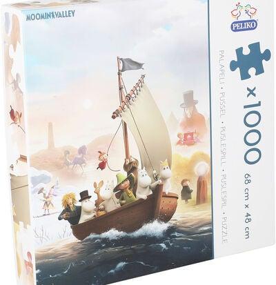 Veldig Kjøp Mummitrollet Puslespill 1000 brikker | Jollyroom BH-21
